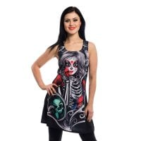 Muerte snow dress