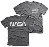 NASA black flag T-shirt 2