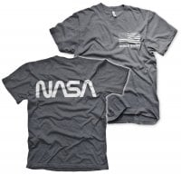 NASA black flag T-shirt 3
