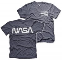 NASA black flag T-shirt 4