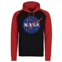 NASA washed logo baseball hoodie 2