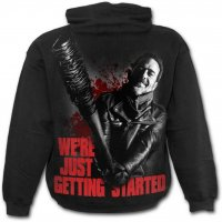 Negan Just Getting Started hoodie bak