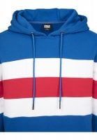 Chest Striped Hoody neck