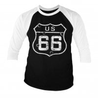Route 66 - Bullets Baseball 3/4 Longsleeve 1