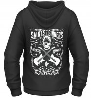 Saint and sinners ziphoodie