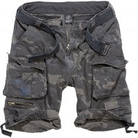 Savage vintage shorts darkcamo framtil