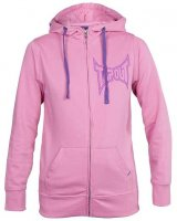 Screaner Tapout rosa hoodie dam fram