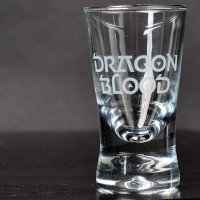 Dragon Blood Shotglas 12-pack
