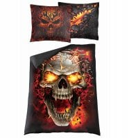 Skull blast Single Duvet Cover + UK And EU Pillow case