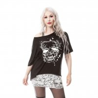Skull crow twin top