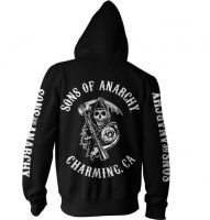 SOA Full Backpatch ziphoodie bak