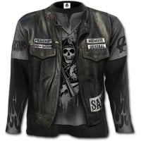 Sons Of Anarchy Jax Wrap longsleeve foran