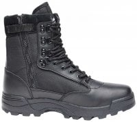 Tactical boots zipper sort