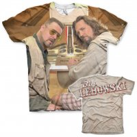 The Big Lebowski Allover Printed T-Shirt dubbel