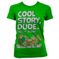 TMNT - Cool Story Dude tjej t-shirt