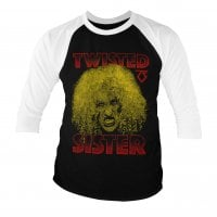 Twisted Sister - Dee Snider 3/4 baseball Tee.