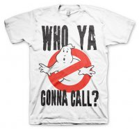 Who Ya Gonna Call? Vit T-Shirt