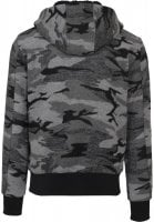 Camo Zip jacka back