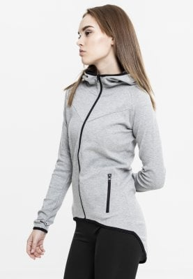 Atletik Ziphoodie grey