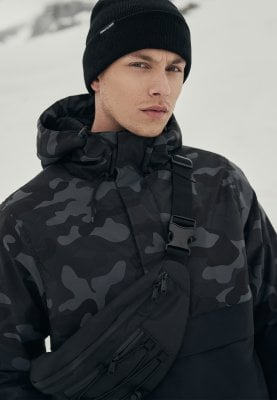 Camo Mix Pullover Jacket darkcamo 1