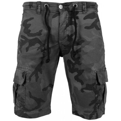 Camo shorts front