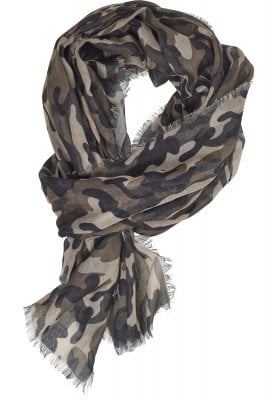 Camouflage scarf