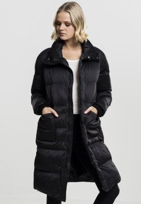 Ladies Oversized Puffer Coat black