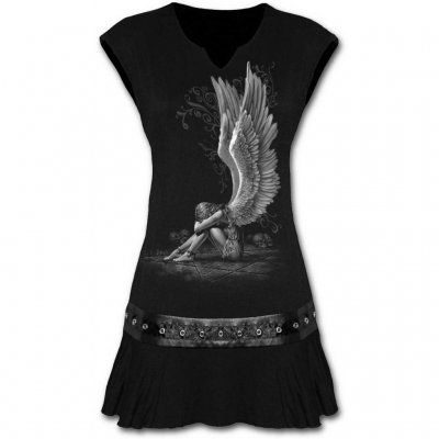 Enslaved angel mini dress