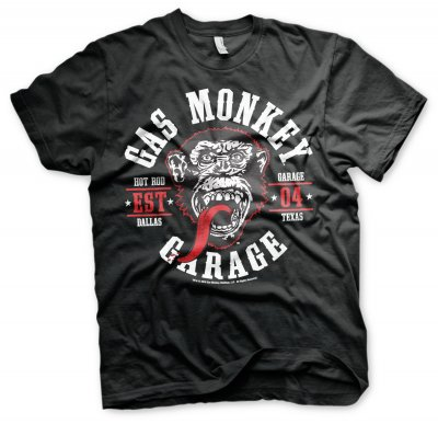Gas Monkey Garage Round Seal t-shirt 1