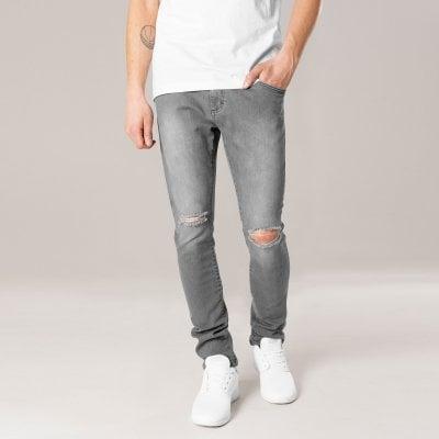 jeans med huller i knæene mænd