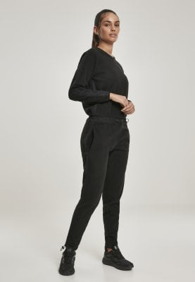 Jumpsuit i fleece stof 1