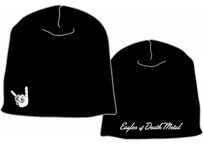 EOD - Black with white logo print,front&back