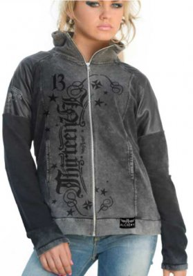 Lord lagartija Alchemy zip sweat