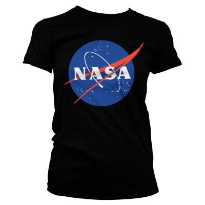 NASA logo dæme T-shirt 1