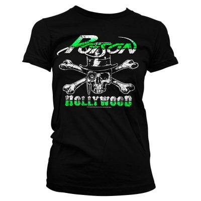 Poison Pige T-shirt - Hollywood Skull