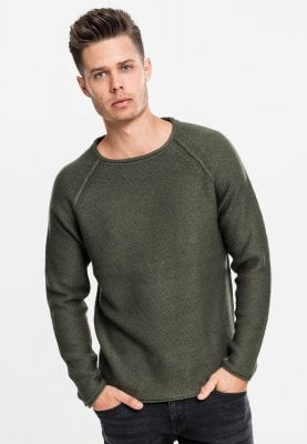 Raglan Wideneck Sweater