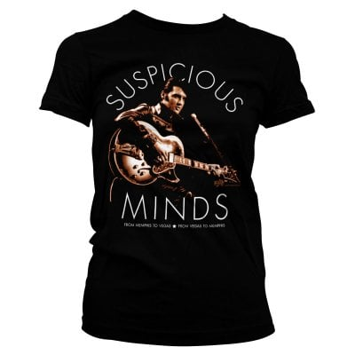 Elvis Presley - Suspicious Minds Girly Tee