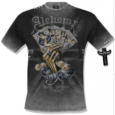 Read em and sweep Alchemy t-shirt