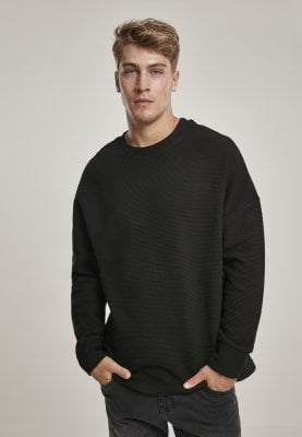 Ribbed sweatshirt 1
