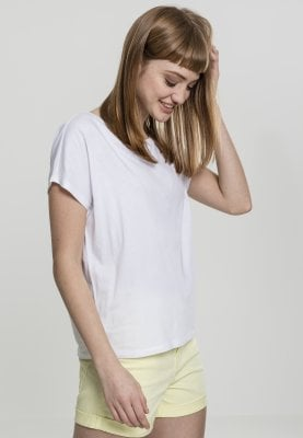Ladies Basic Drop Shoulder Tee