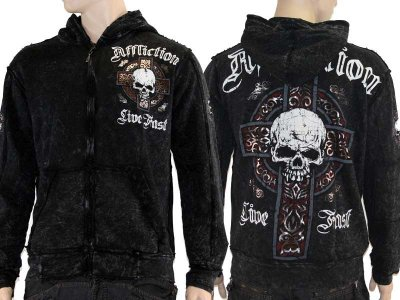 Affliction Tempest limited edition hoodie