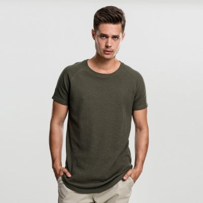 Thermal Slub Raglan Tee