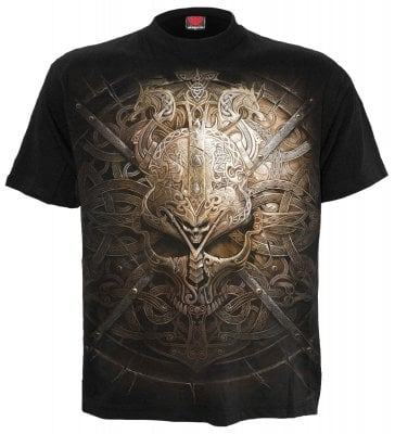 Viking shield T-shirt 1