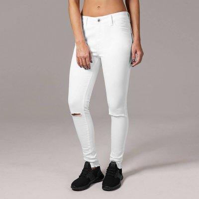 hvide jeans dame