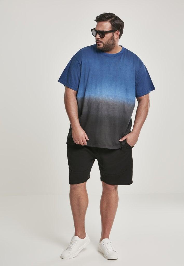 Dipfarvet t shirt til mænd plus size T shirts Herrer