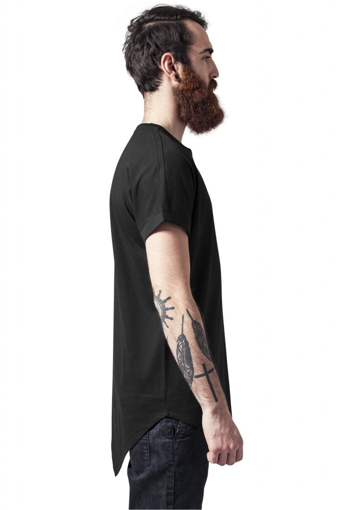 893b0c83 Lang t-shirt til mænd asymmetrisk - T-shirts - Herrer - Oddsailor.dk