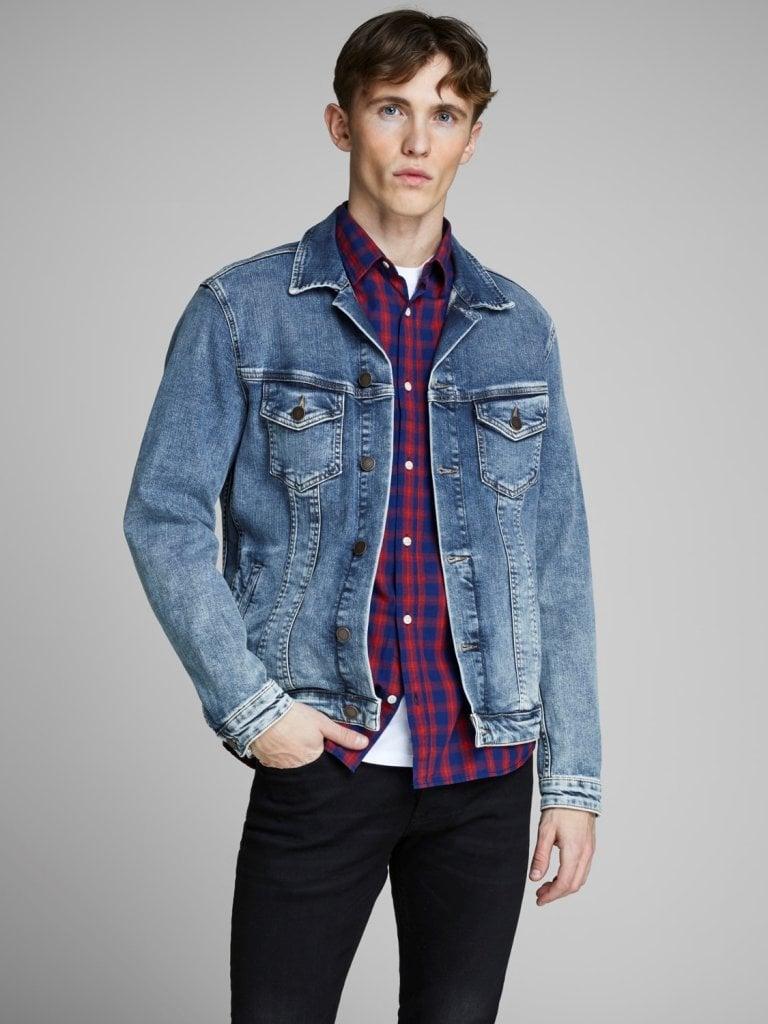 Lys jeans jakke mænd Jakker Herrer Oddsailor.dk