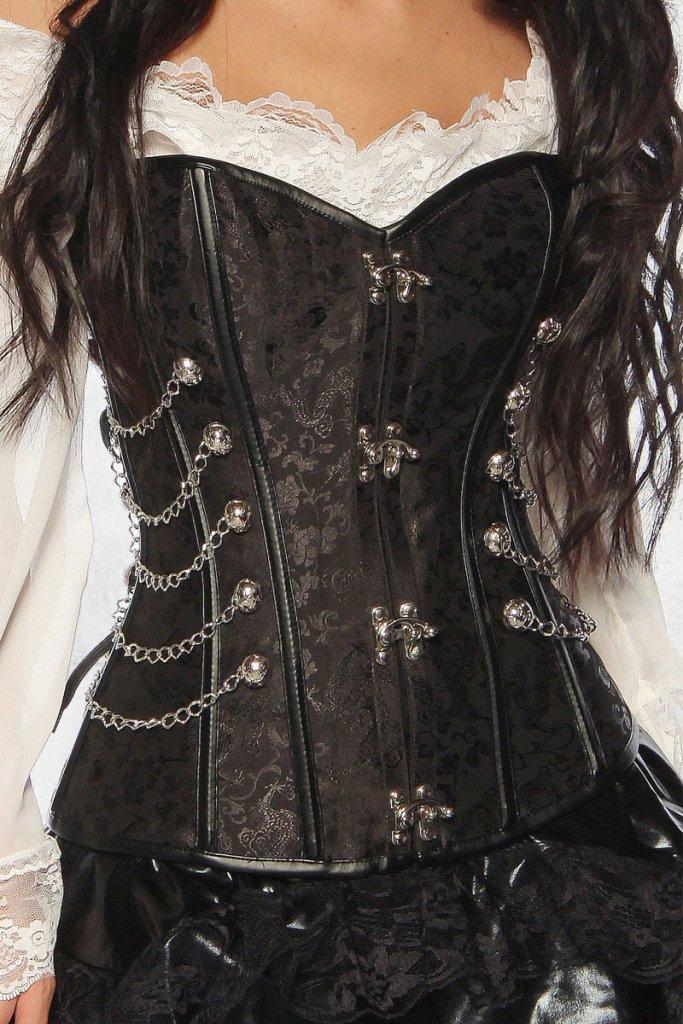 Pirat Steampunk korset
